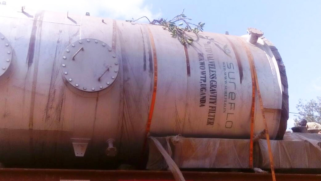 Sureflo AVGF on the Way to African Client for Drinking Water Treatment
