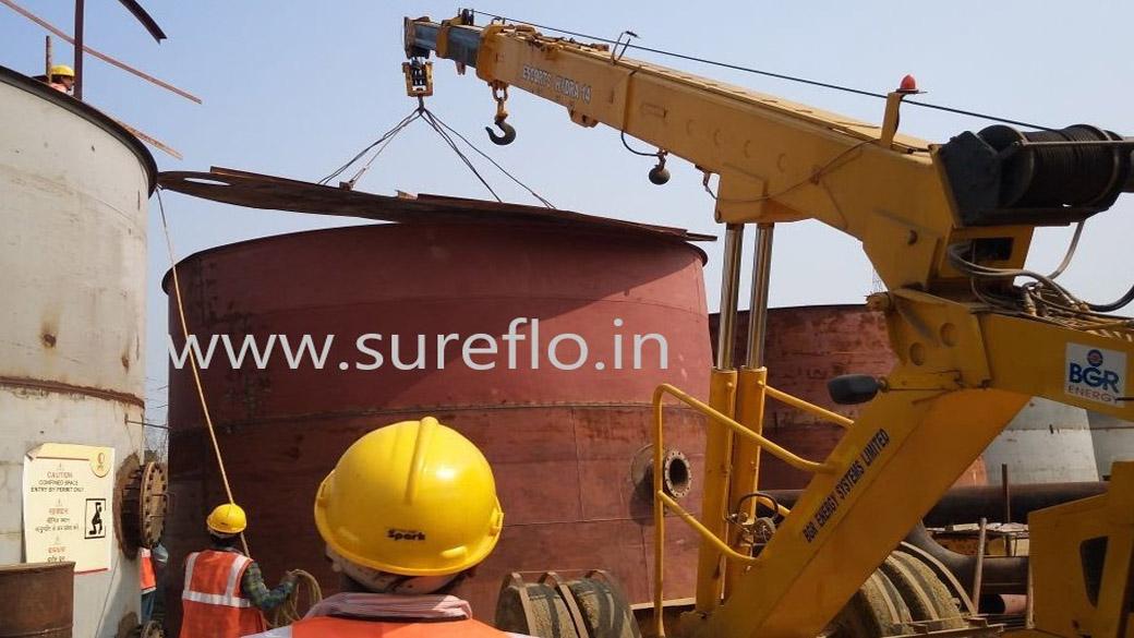 Sureflo Side Stream filter Installation at site